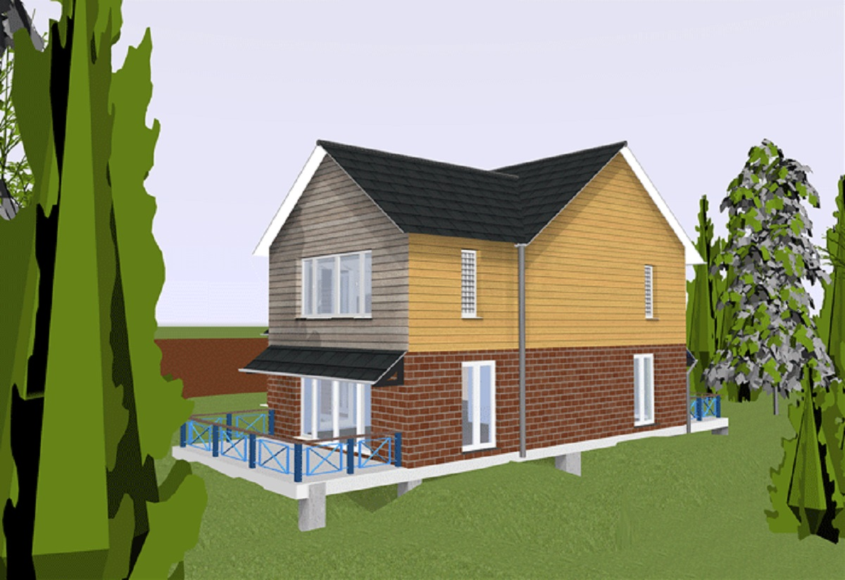 House rendering image