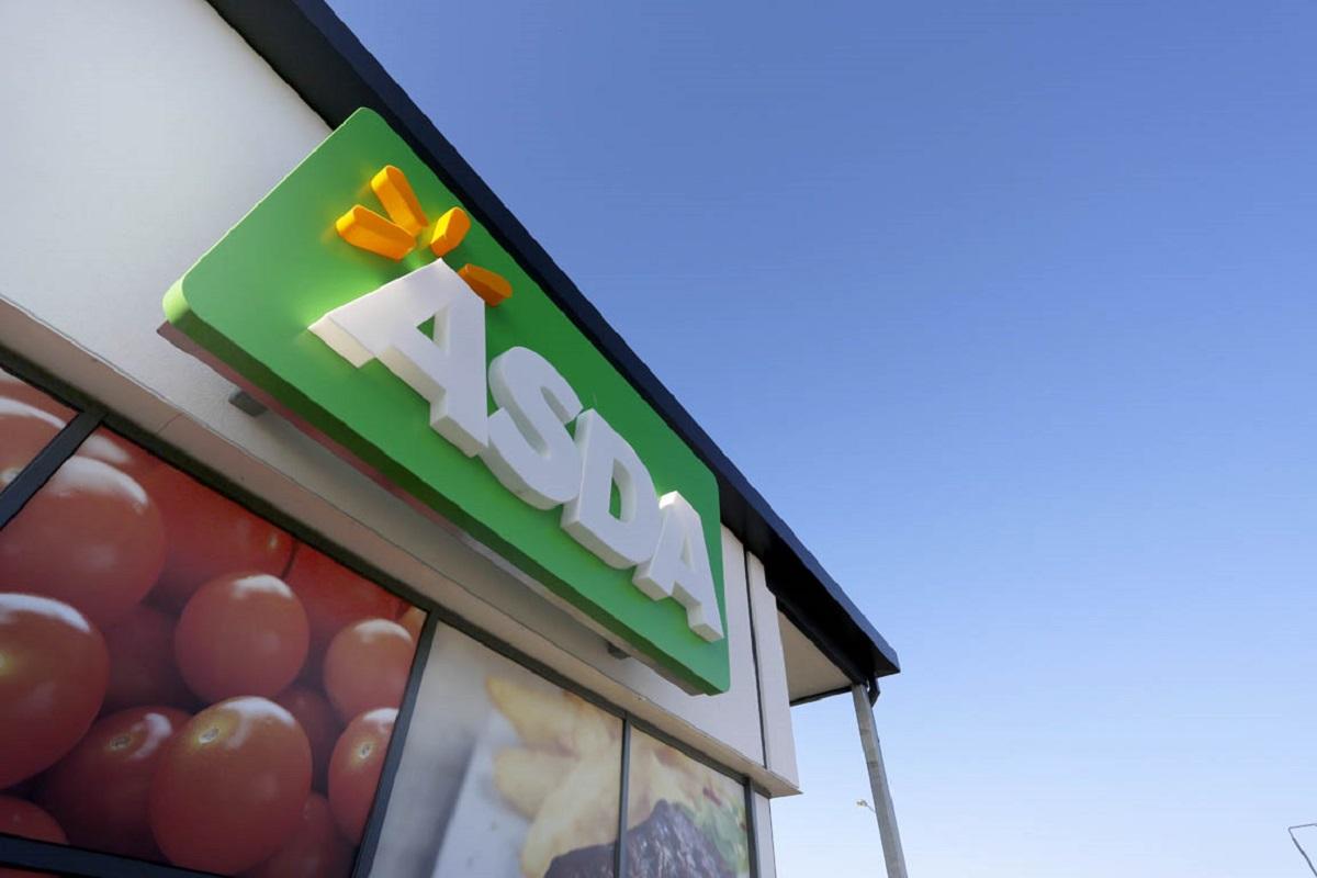 Asda store front and logo