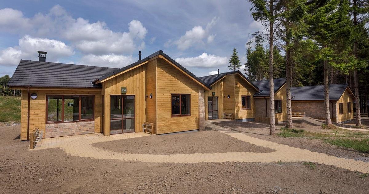 Centre Parc cabins