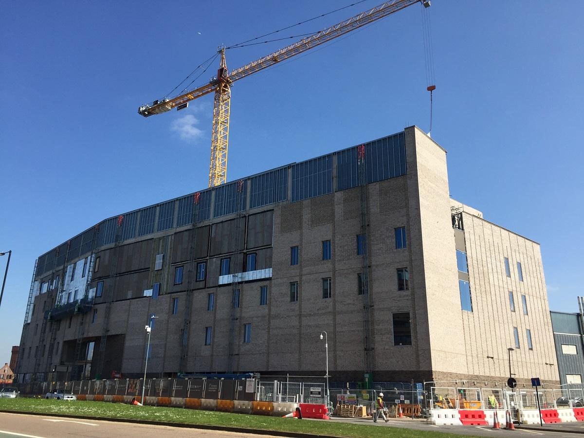 Galliford Try Birmingham Uni PP BIM project
